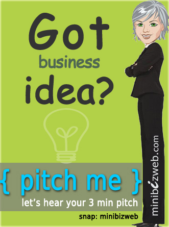 Pitch me your business idea
